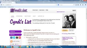 Cyndi's List