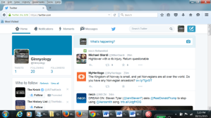 Twitter Main Page